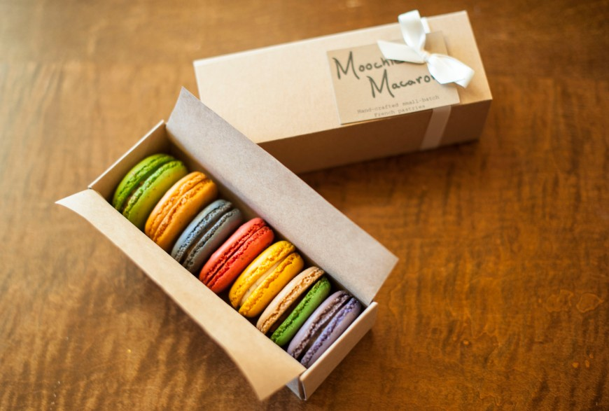 7-macaron gift box